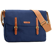 Buy Storksak Ashley Messenger Changing Bag, Blue Online at johnlewis.com