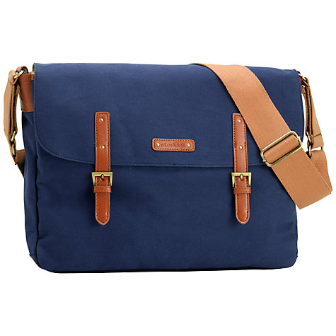 Buy Storksak Ashley Messenger Changing Bag, Blue | John Lewis