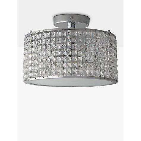 ... Buy Illuminati Victory Crystal Bathroom Semi Flush Light Online At  Johnlewis.com ...