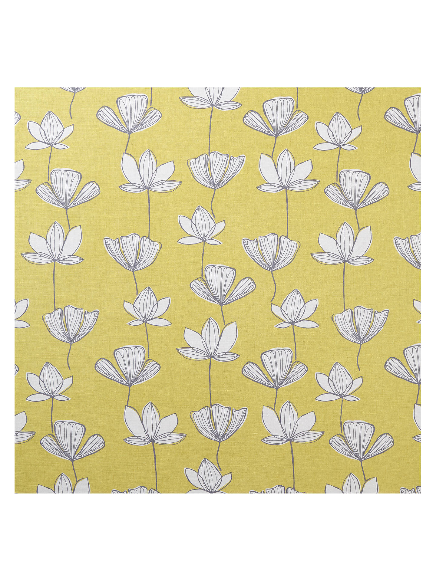 BuyJohn Lewis & Partners Gingko Furnishing Fabric, Citrine Online at johnlewis.com