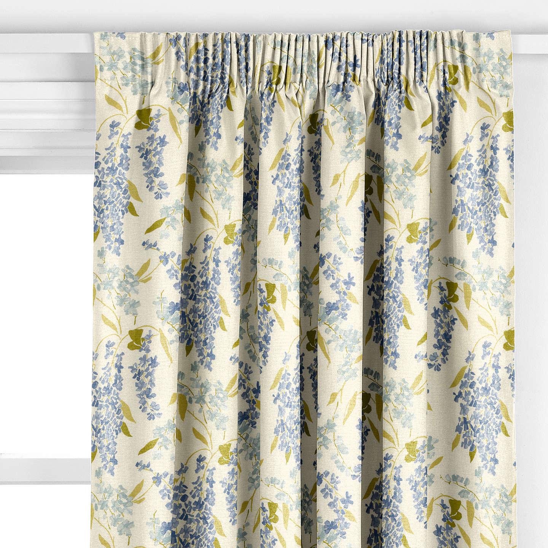 john lewis wisteria curtain blue at john lewis. Black Bedroom Furniture Sets. Home Design Ideas