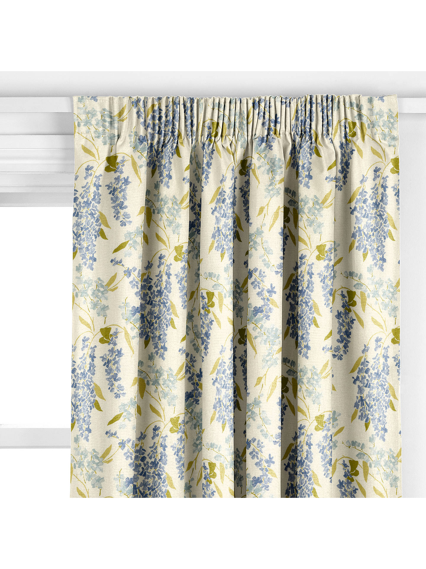 BuyJohn Lewis Partners Wisteria Curtain Blue Online At Johnlewis