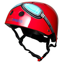 Buy Kiddimoto Red Goggles Helmet, Small Online at johnlewis.com