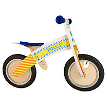 Buy Kiddimoto Kurve Balance Bike, Police Online at johnlewis.com