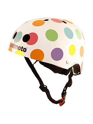 Kiddimoto Pastel Dotty Helmet, Small