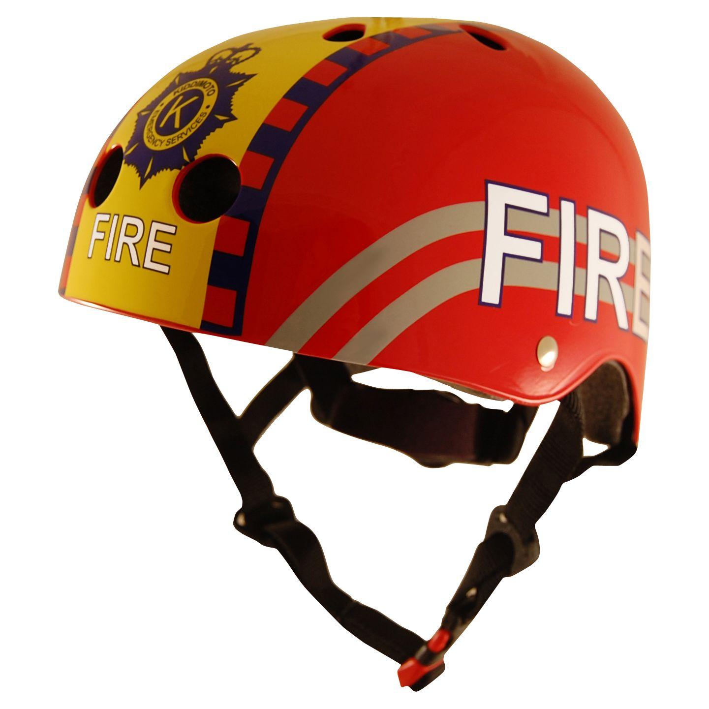 Kiddimoto Kiddimoto Fire Helmet, Small