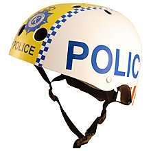 Buy Kiddimoto Children's Police Scooter & Bike Helmet, Small Online at johnlewis.com