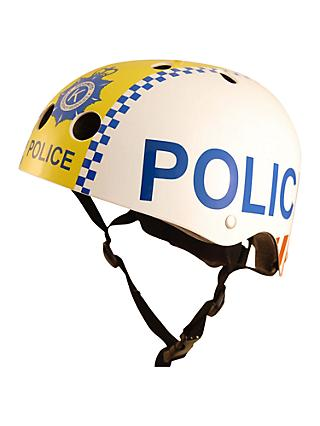 Kiddimoto Police Scooter & Bike Helmet, Small