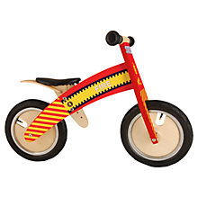 Buy Kiddimoto Kurve Balance Bike, Fire Online at johnlewis.com