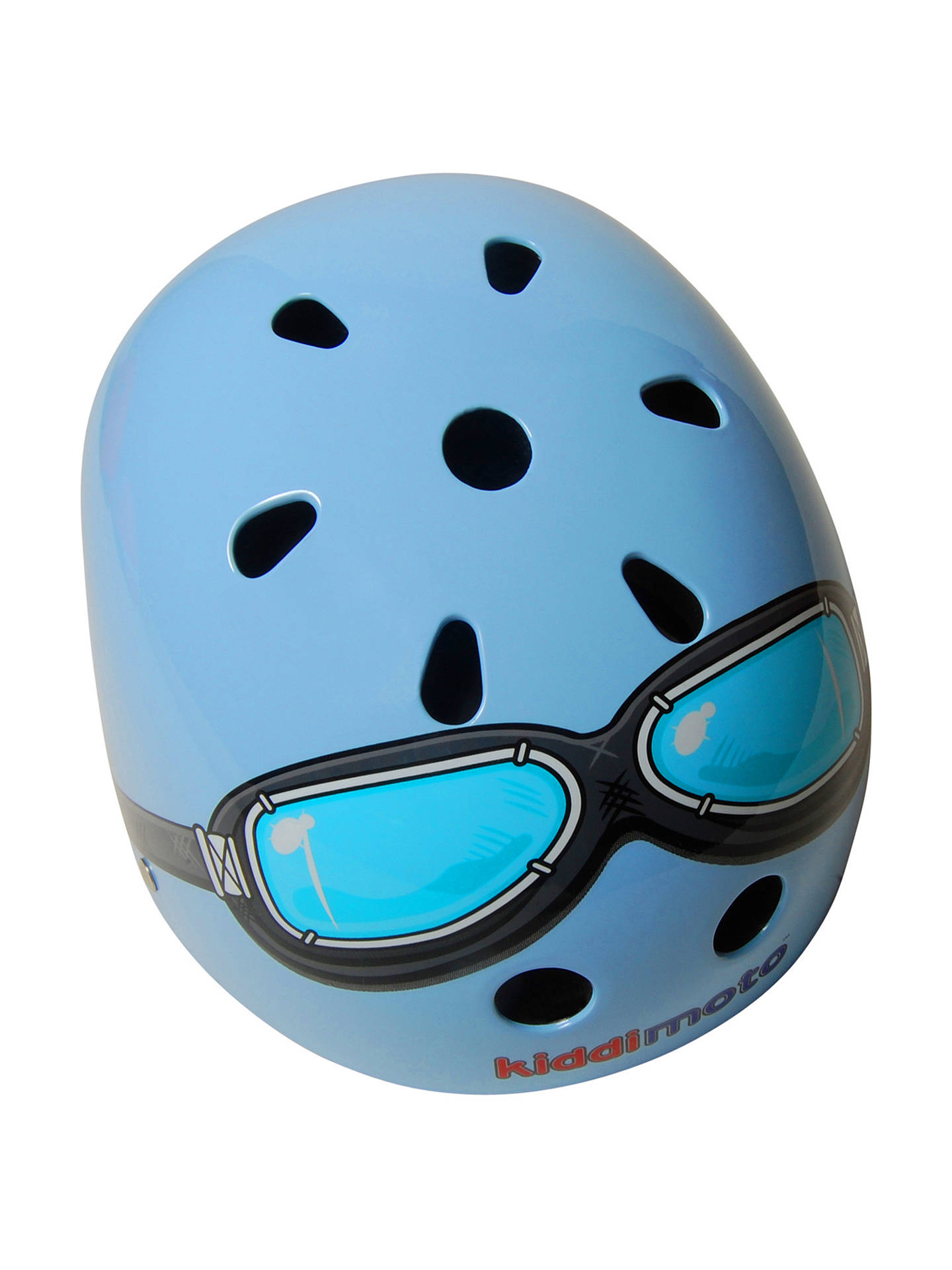 BuyKiddimoto Blue Goggles Helmet, Small Online at johnlewis.com