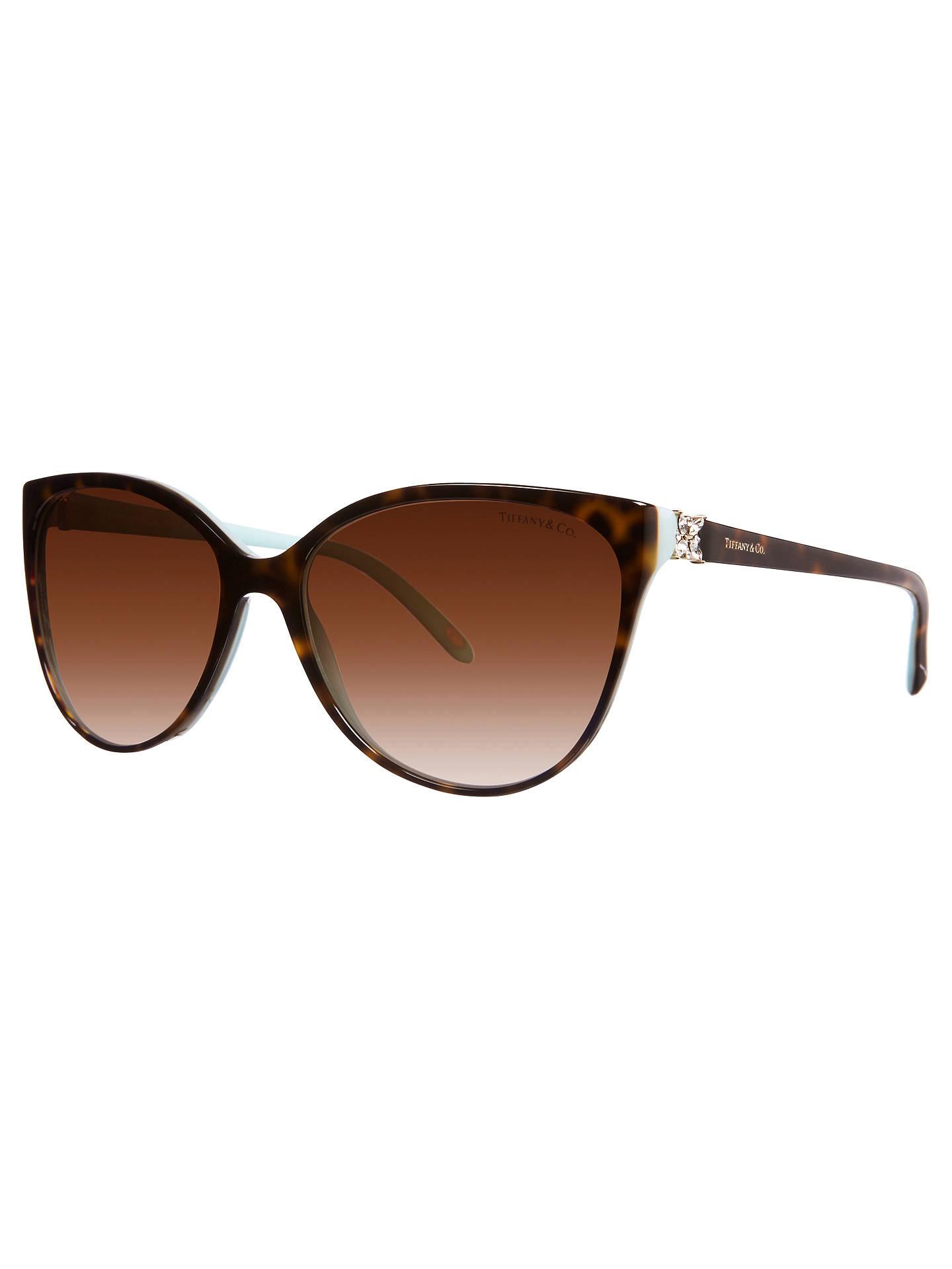 b773c8af582 Tiffany   Co TF4089B Cat s Eye Sunglasses at John Lewis   Partners