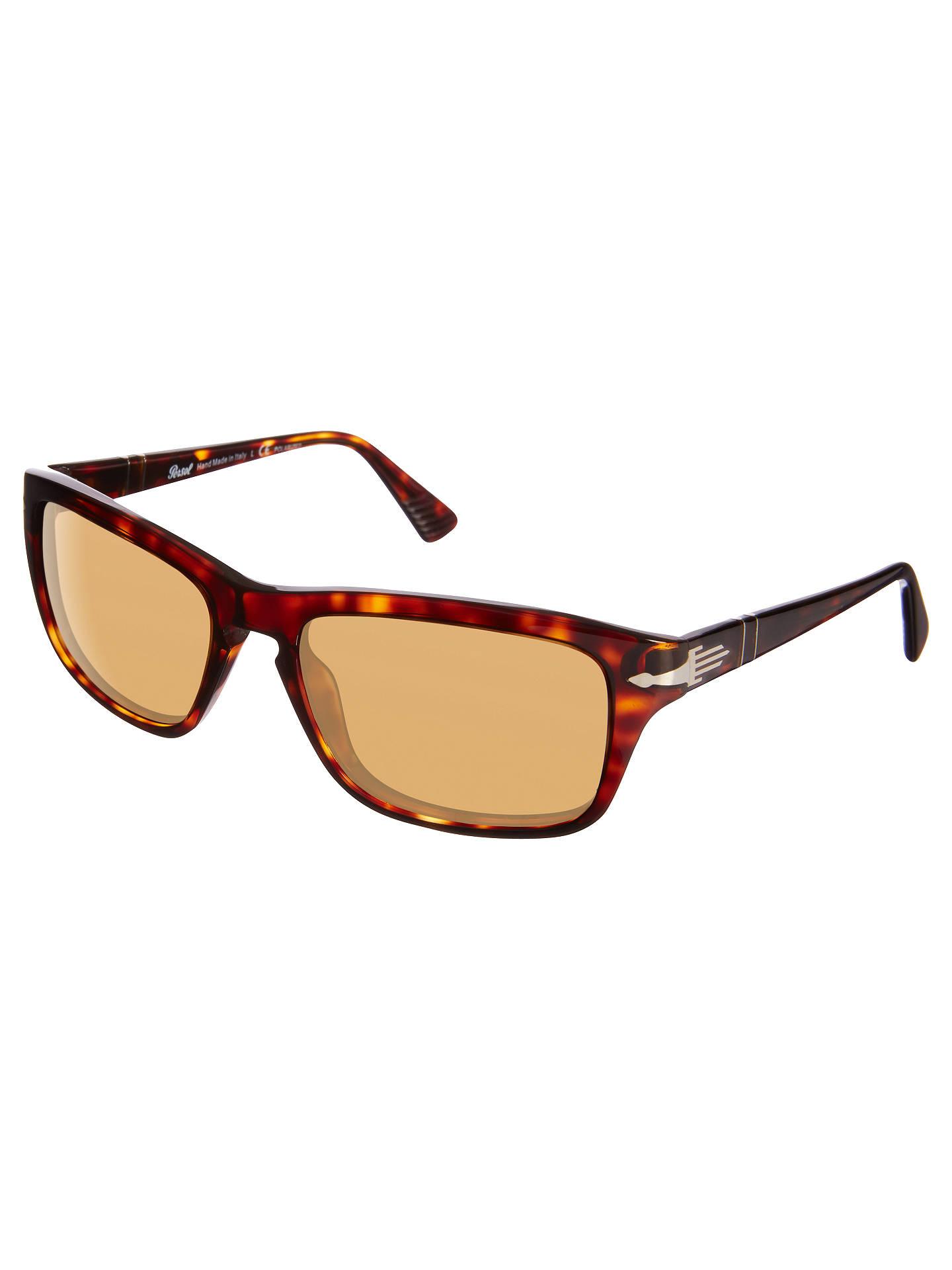 74ff76a4f311 Buy Persol PO3074S Polarised Rectangular Sunglasses, Tortoise Online at  johnlewis.com ...