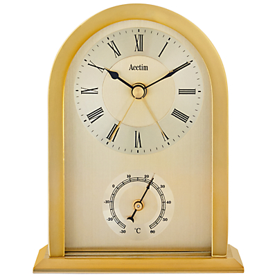 Acctim Highgrove Mantel Clock, Gold