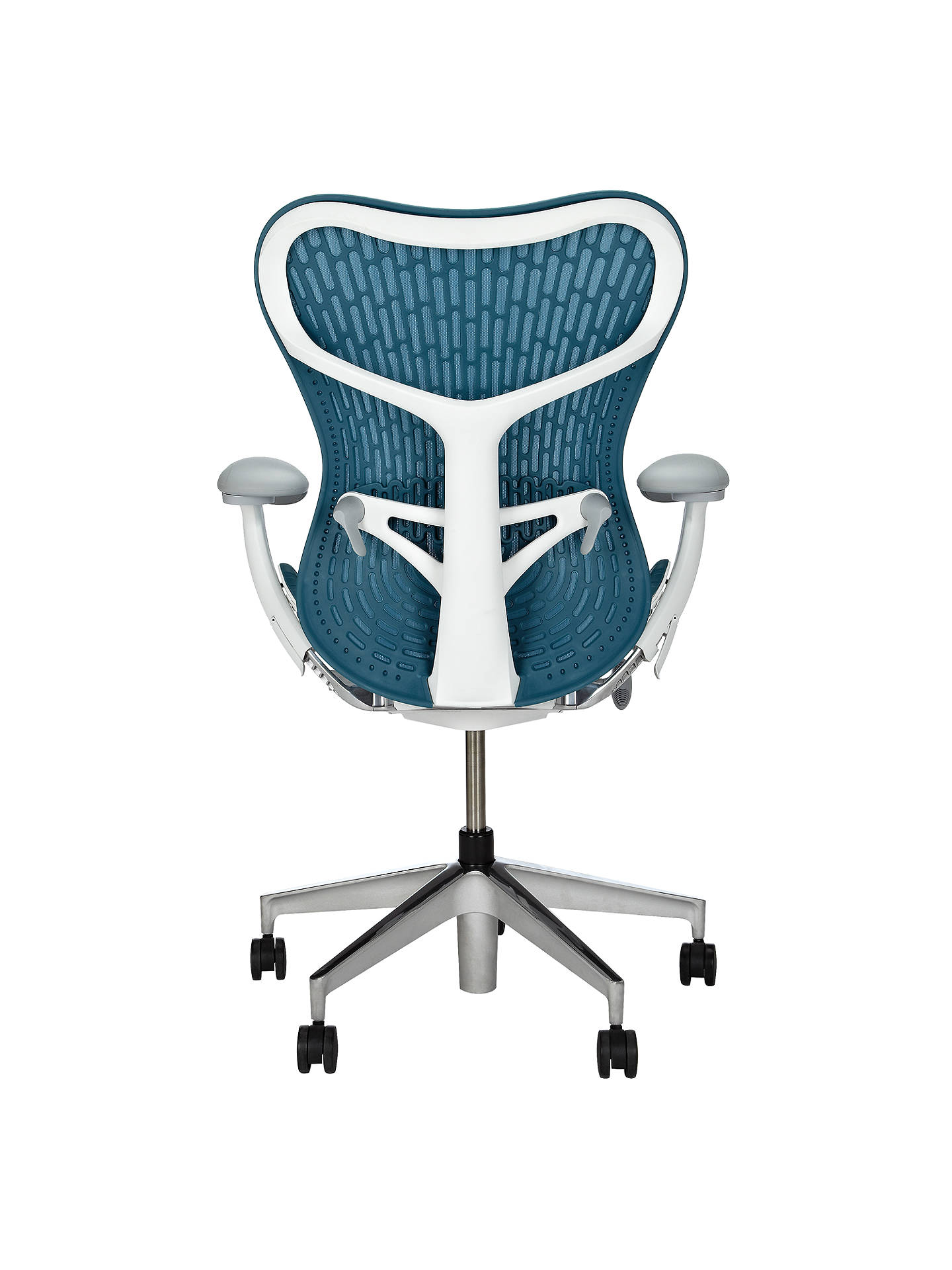 pretty nice b5b14 d7d69 Herman Miller Mirra 2 Office Chair, Dark Turquoise at John ...