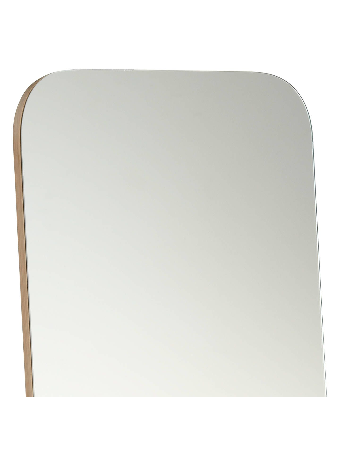 BuyJohn Lewis Hatten Freestanding Mirror, Oak Online at johnlewis.com
