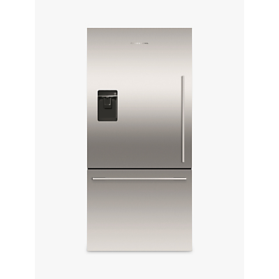 Fisher & Paykel RF522WDLUX4 Fridge Freezer, A+ Energy Rating, 80cm Wide, Stainless Steel