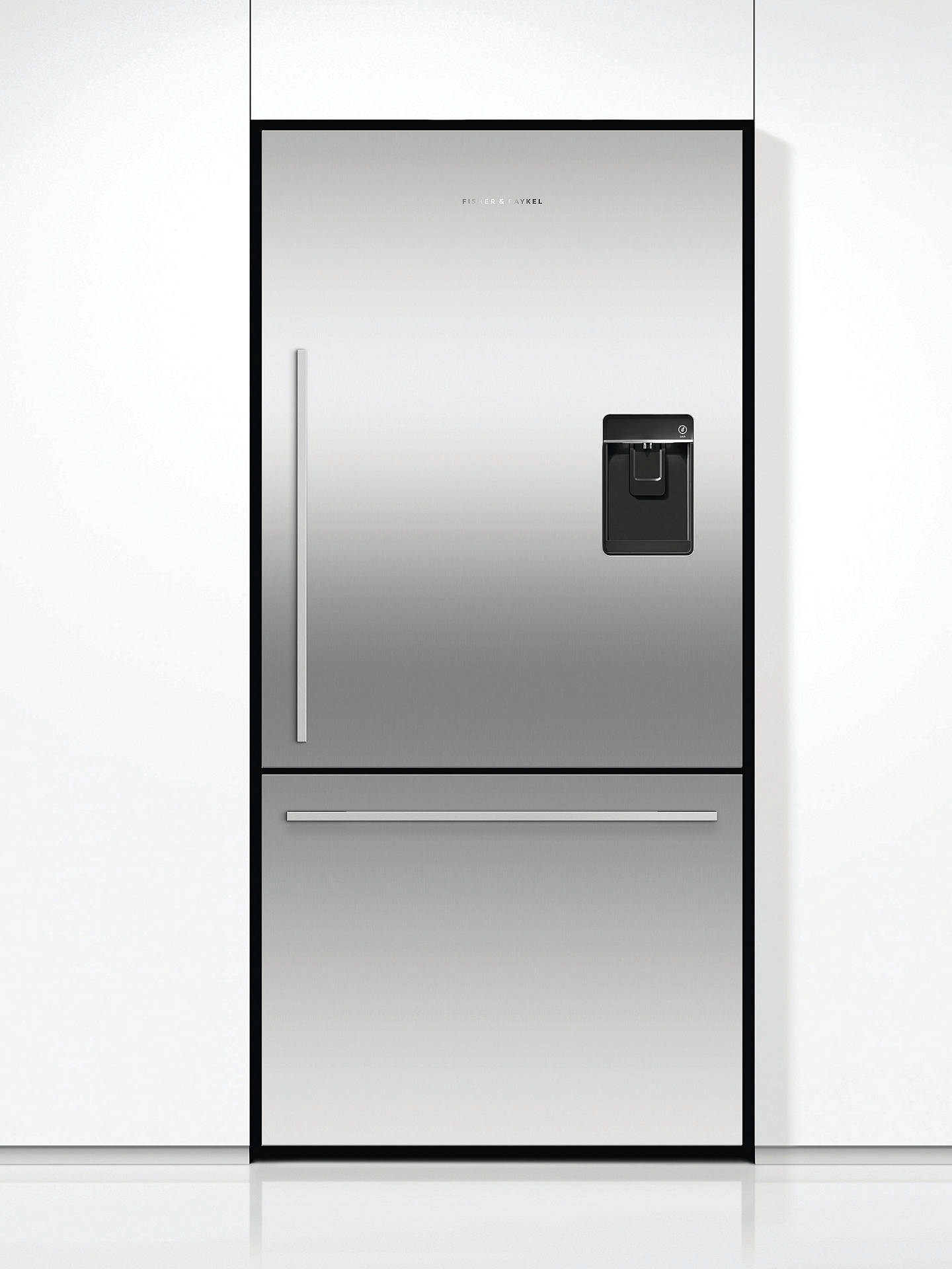BuyFisher & Paykel RF522WDRUX4 Fridge Freezer, A+ Energy Rating, 80cm Wide, Stainless Steel Online at johnlewis.com