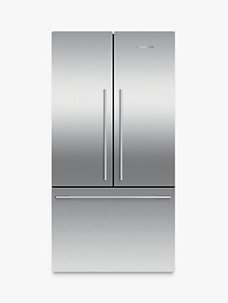 Fisher & Paykel RF610ADX4 3-Door Fridge Freezer, Stainless Steel