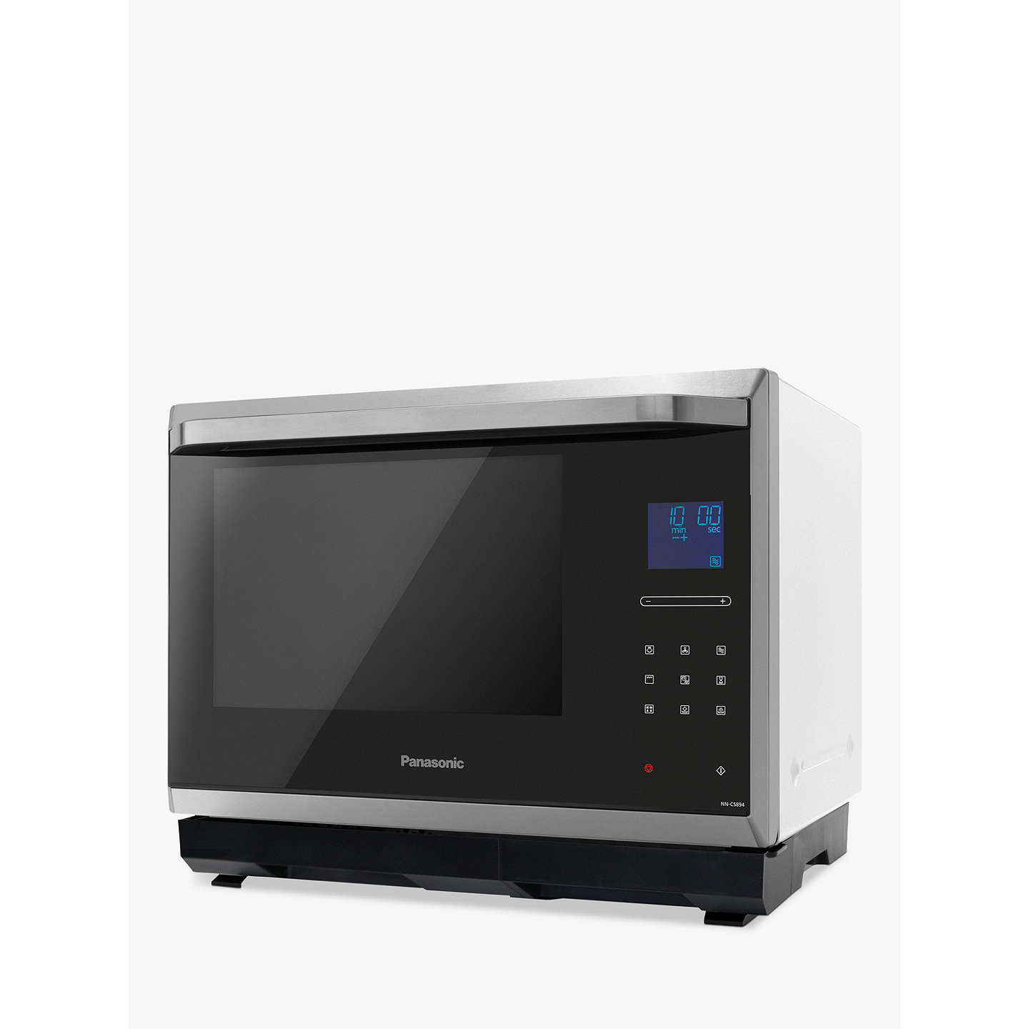 Panasonic Nn Cs894sbpq Combination Steam Microwave Oven Stainless Steel Online At Johnlewis