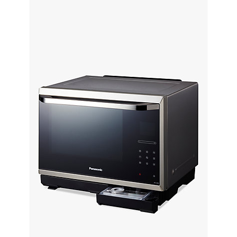 Buy Panasonic NN-CS894S Combination Steam Microwave, Stainless Steel Online at johnlewis.com