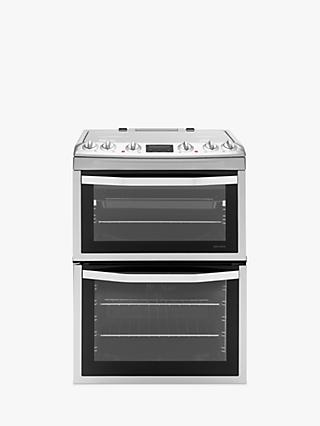 John Lewis & Partners JLFSMC613 Dual Fuel Cooker, Stainless Steel
