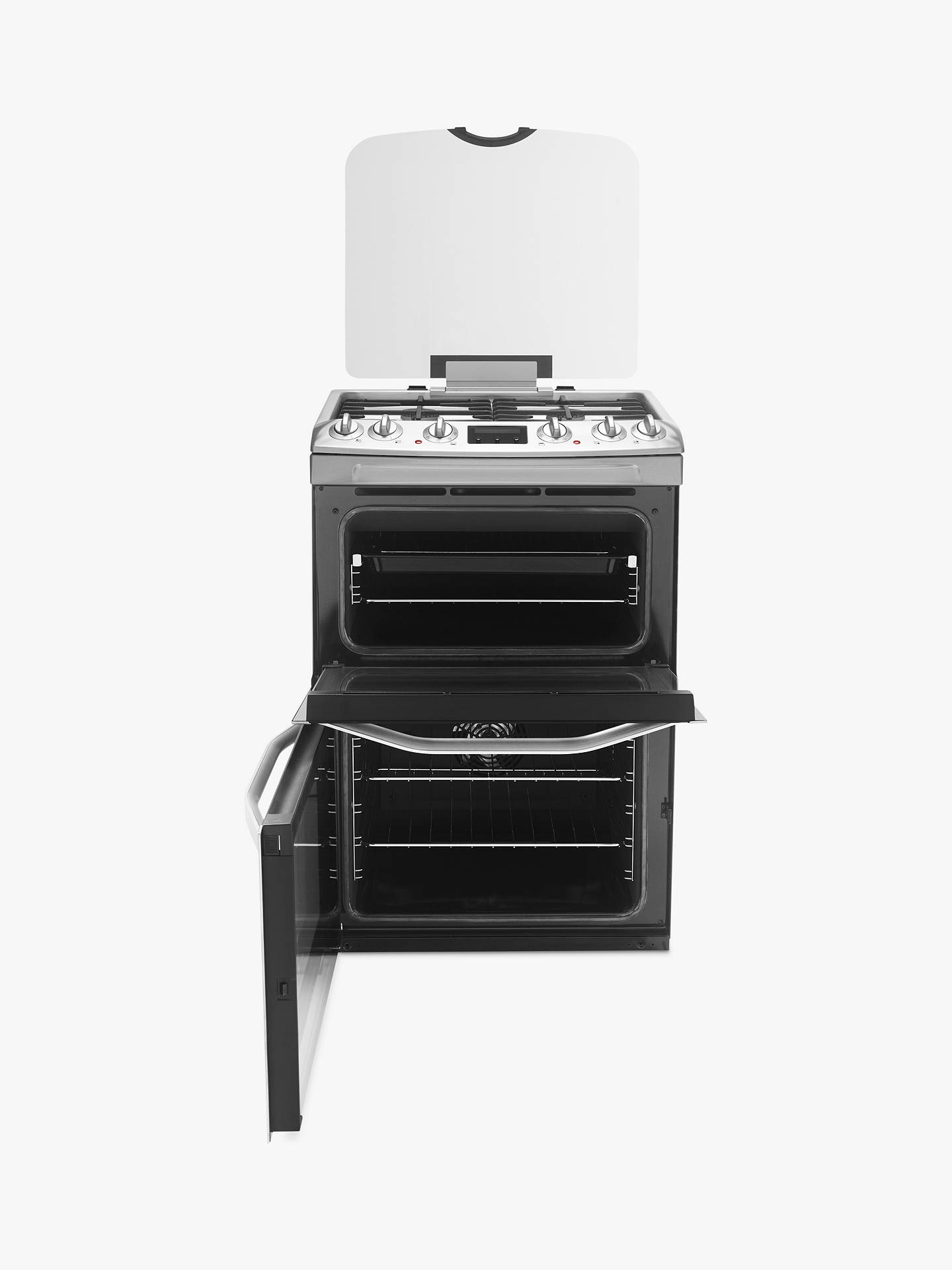 John Lewis Partners Jlfsmc613 Dual Fuel Cooker Stainless Steel Kitchen Wiring Code Canada Buyjohn Online At Johnlewis