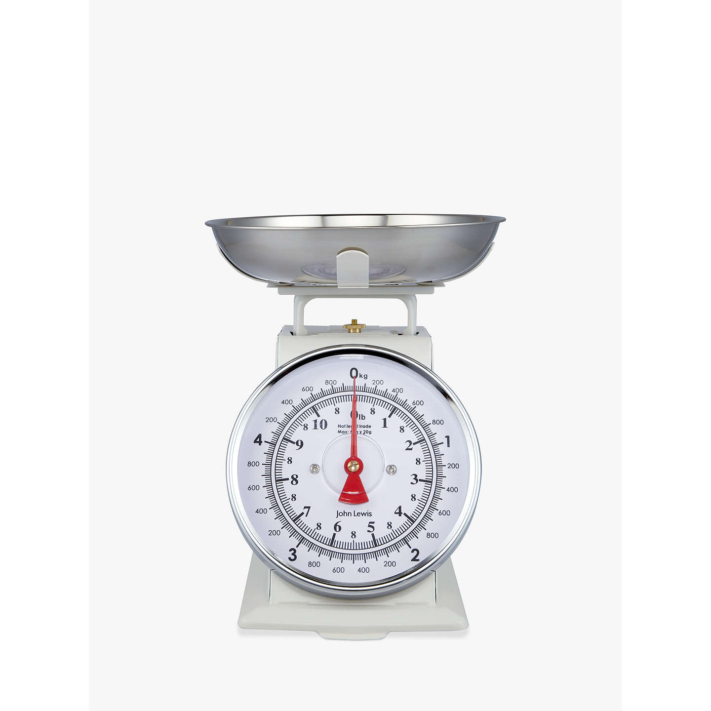 John Lewis Classic Mechanical Kitchen Scale, 5kg at John Lewis