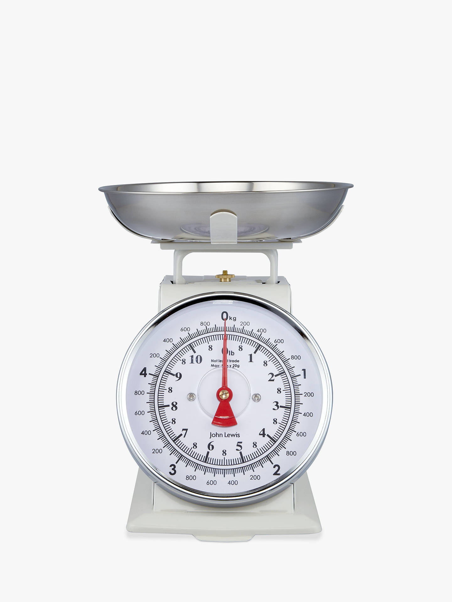 Buy John Lewis & Partners Classic Mechanical Kitchen Scale, 5kg Online at johnlewis.com