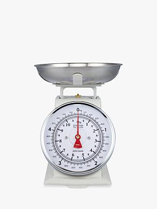 John Lewis & Partners Classic Mechanical Kitchen Scale, 5kg