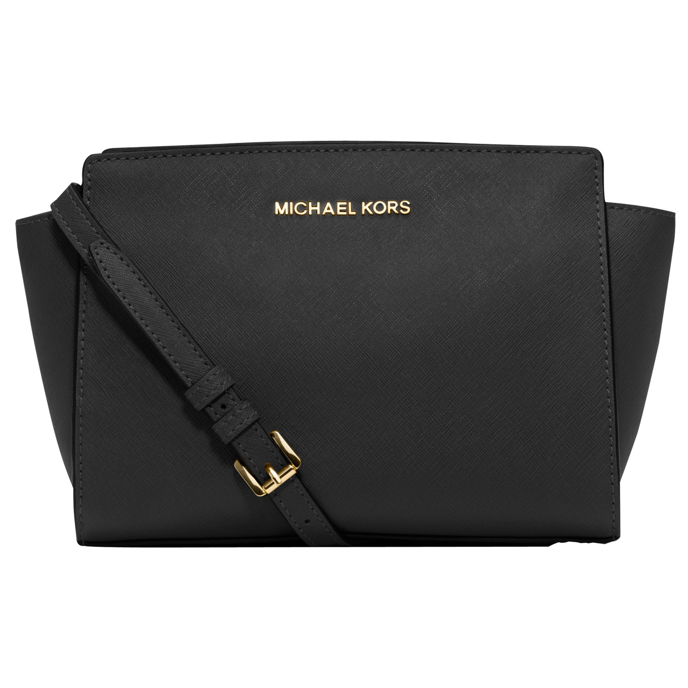 5d6fd5ec5fdbe9 ... best price michael michael kors selma mid leather messenger bag at john  lewis partners 762a1 30bb8