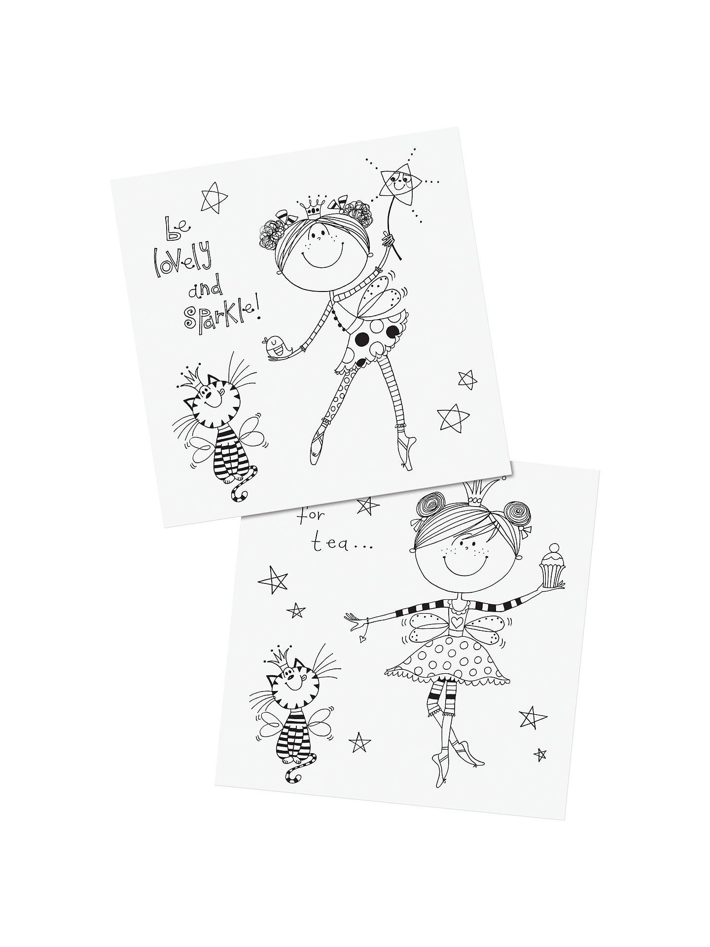 BuyRachel Ellen Fairy Colouring Book Online at johnlewis.com