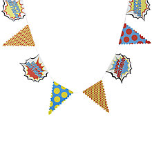 Buy Ginger Ray Pop Art Happy Birthday Bunting Online at johnlewis.com
