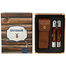 Buy Ted Baker Wood and Steel Outdoor Companion Multi Tool Online at johnlewis.com