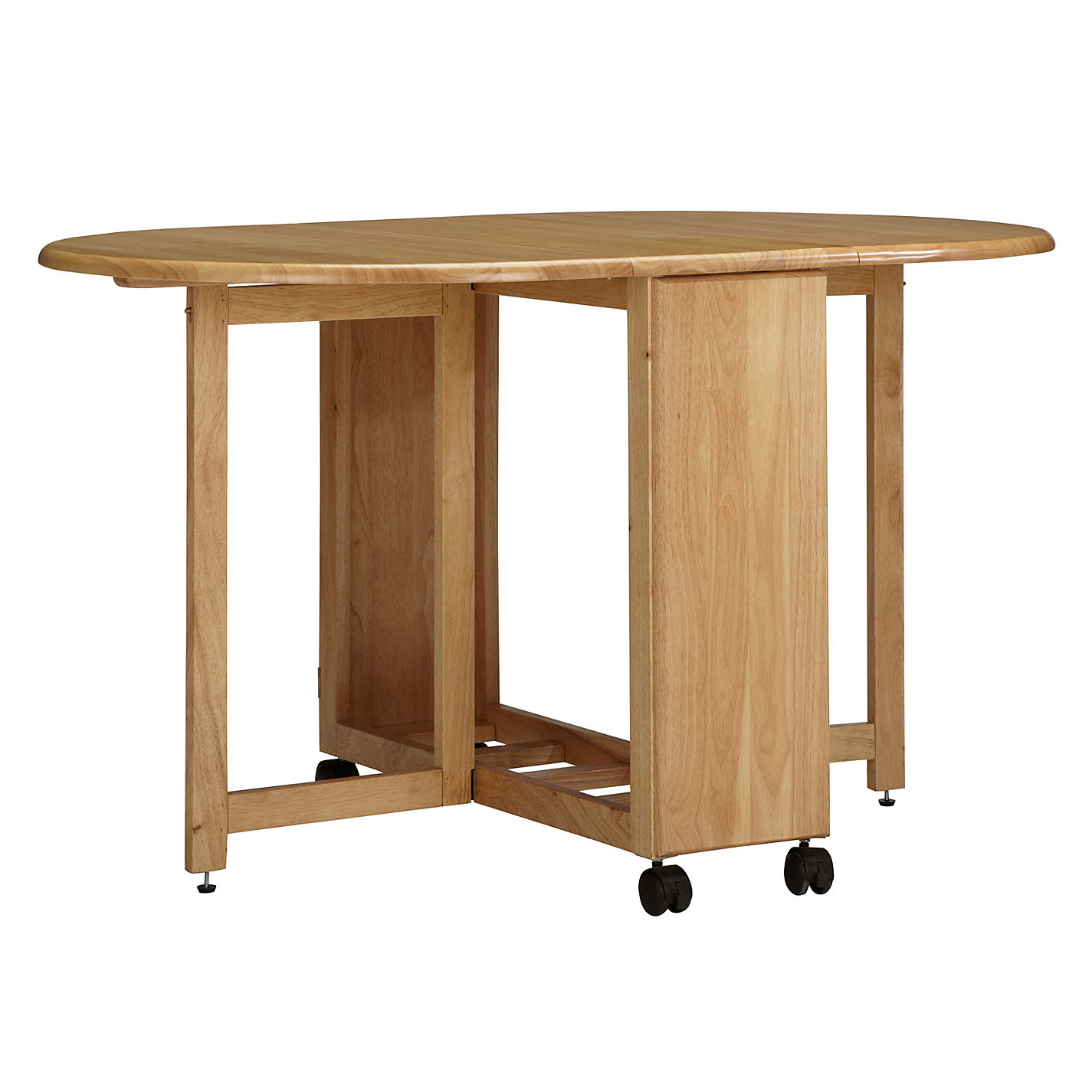 buy john lewis butterfly drop leaf folding dining table and four