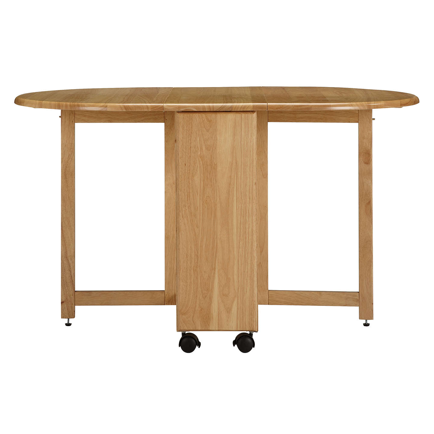 John Lewis Butterfly Drop Leaf Folding Dining Table and Four Chairs ...