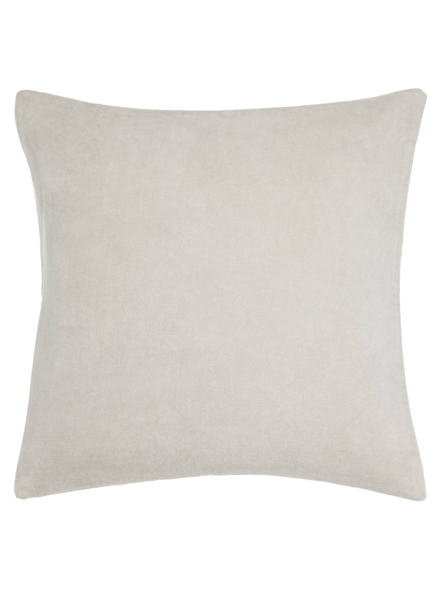 john lewis plain velvet cushion at john lewis partners. Black Bedroom Furniture Sets. Home Design Ideas