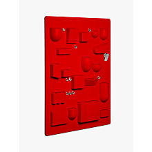 Buy Vitra Uten.Silo Storage System, H87cm, Red Online at johnlewis.com