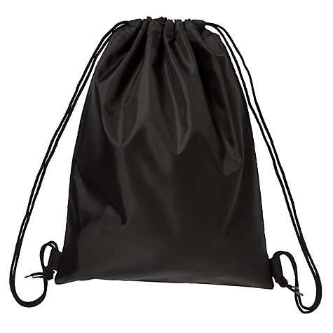 Buy School PE Drawstring Bag, Black | John Lewis