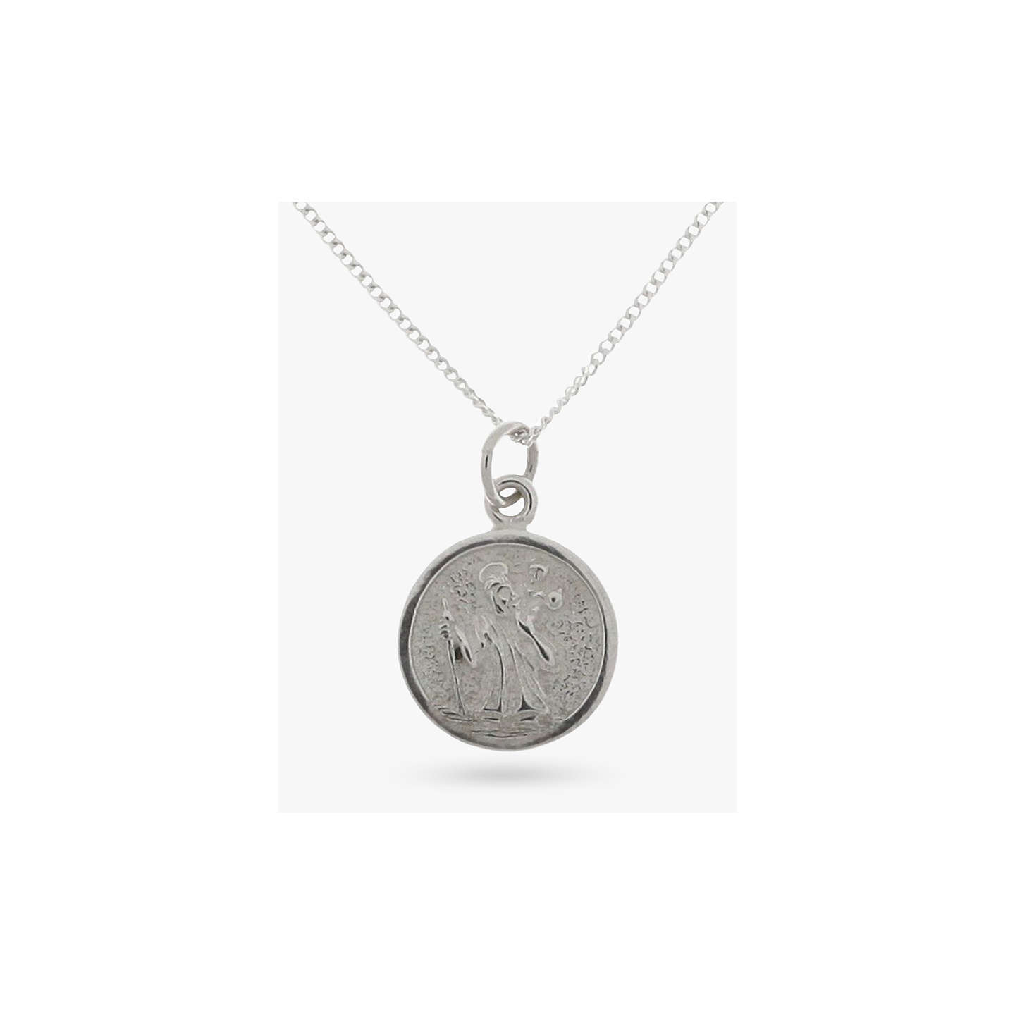 Nina b sterling silver stristopher pendant at john lewis buynina b sterling silver stristopher pendant online at johnlewis mozeypictures Gallery