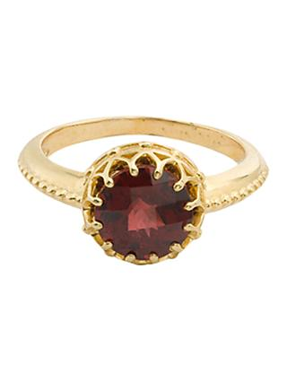 London Road 9ct Gold Coronet Ring, N