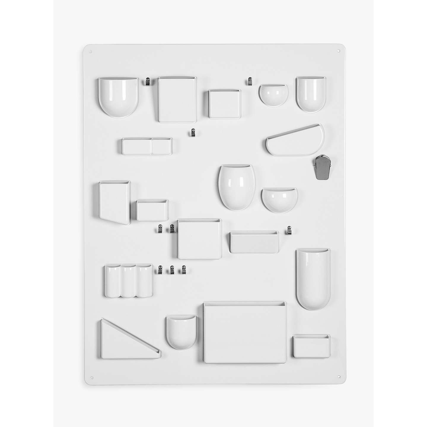 vitra uten silo storage system h87cm white at john lewis. Black Bedroom Furniture Sets. Home Design Ideas