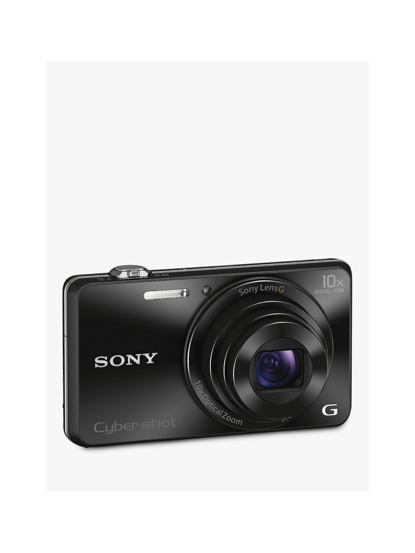 "Sony Cyber-shot DSC-WX220 Camera, HD 1080p, 18 2MP, 10x Optical Zoom,  Wi-Fi, NFC, 2 7"" Screen"
