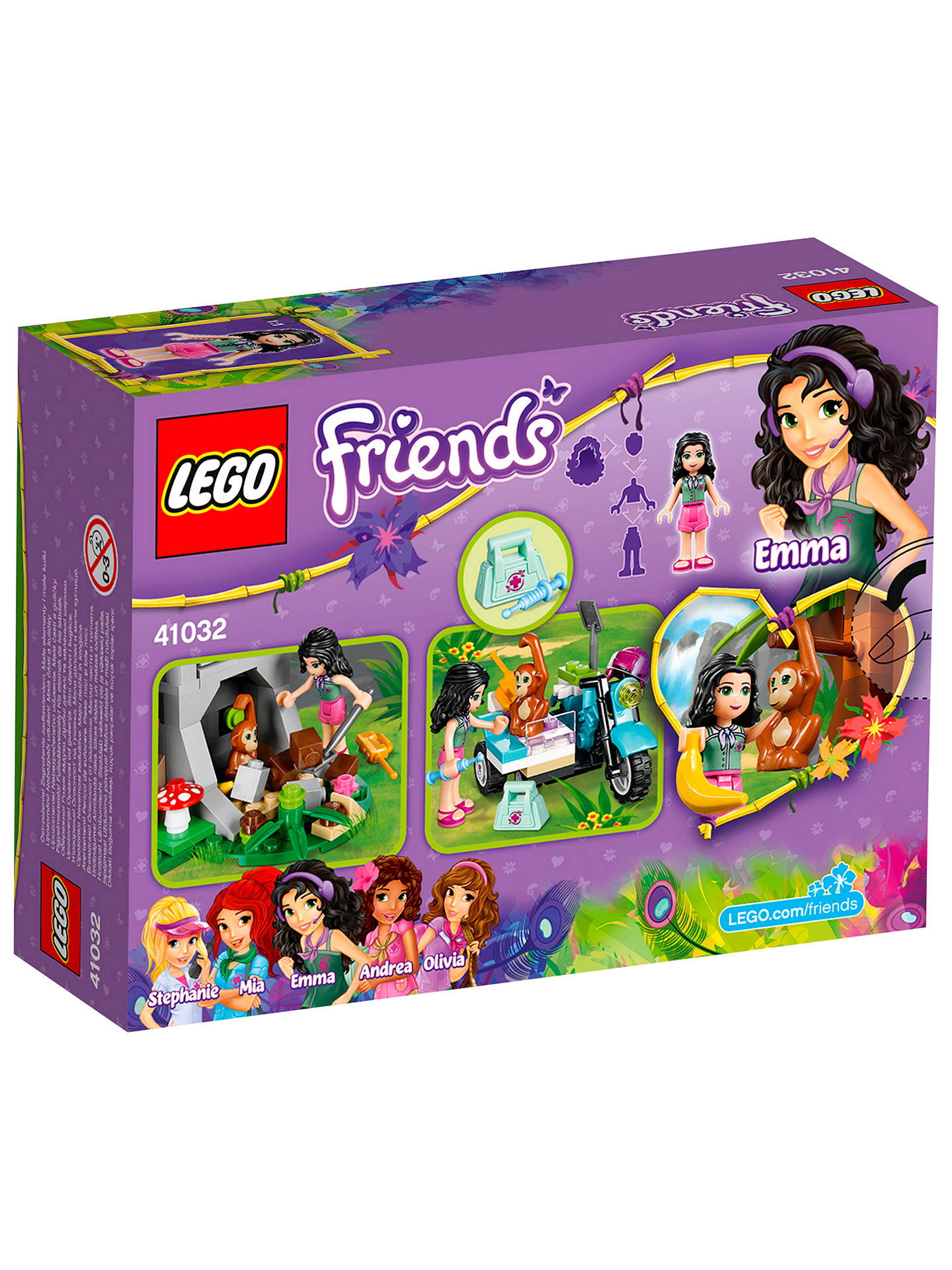 LEGO Friends First Aid Jungle Bike at John Lewis & Partners