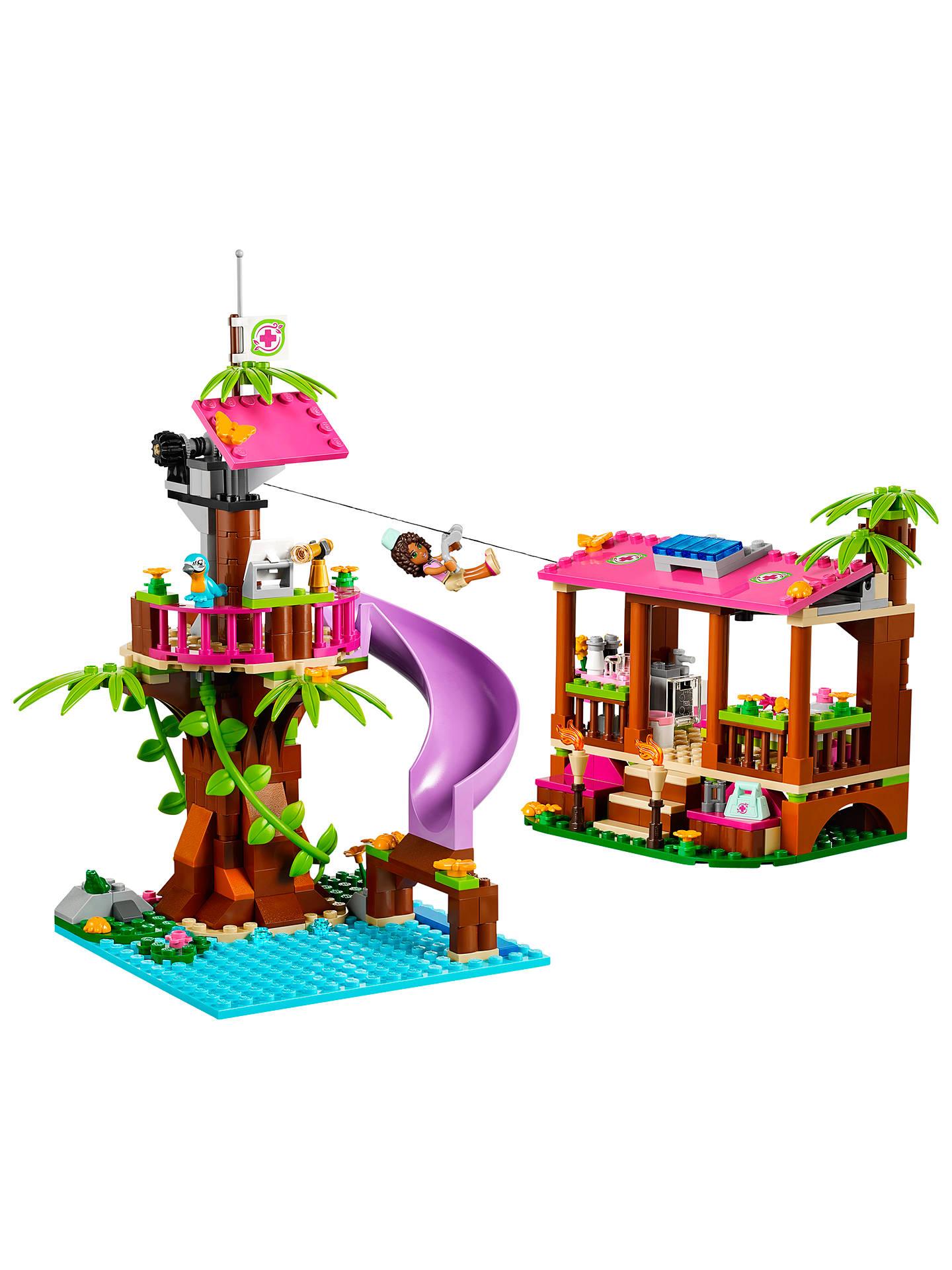 LEGO Friends Jungle Rescue Base at John Lewis & Partners
