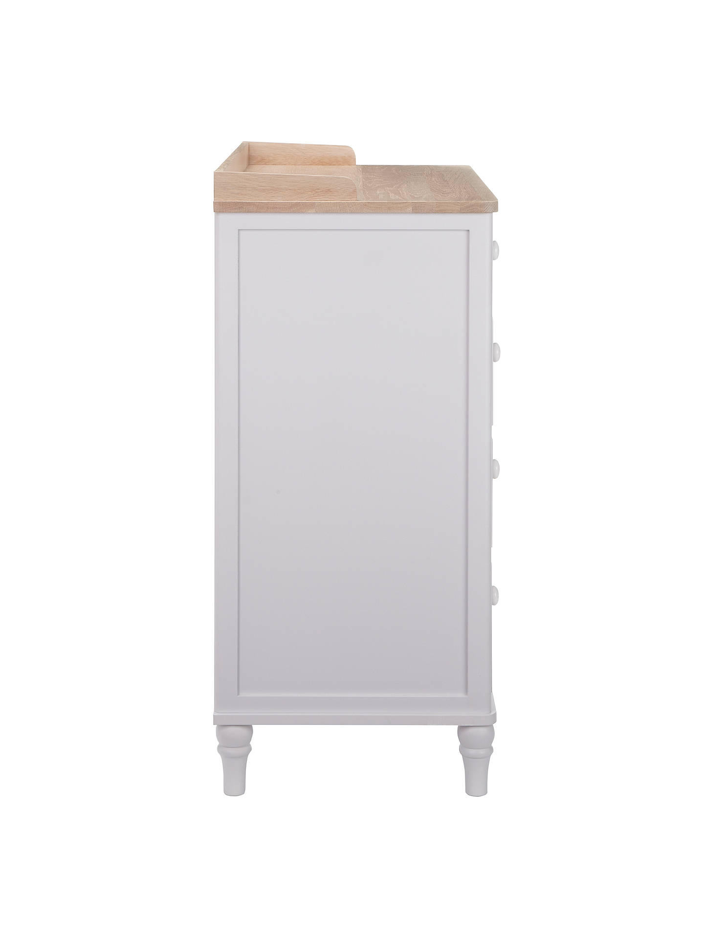 Buy John Lewis Croft Collection Lomond 5 Drawer Chest, Grey Online at johnlewis.com