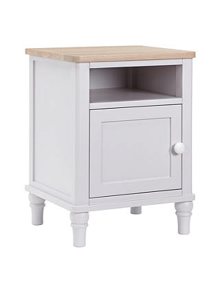 Buy John Lewis Croft Collection Lomond Bedside Cupboard, Grey Online at johnlewis.com