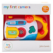 Buy John Lewis My First Camera Toy Online at johnlewis.com