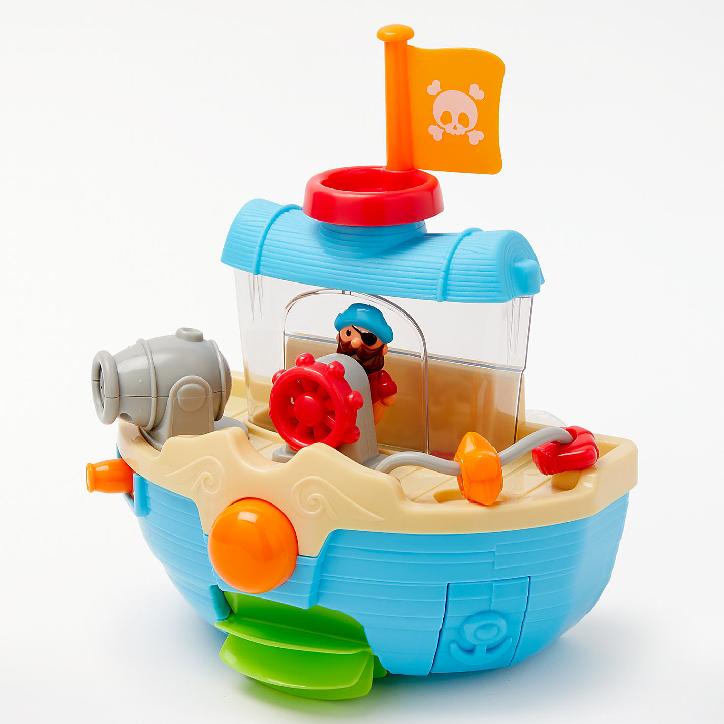 Buy John Lewis Bathtime Water Pirate Boat