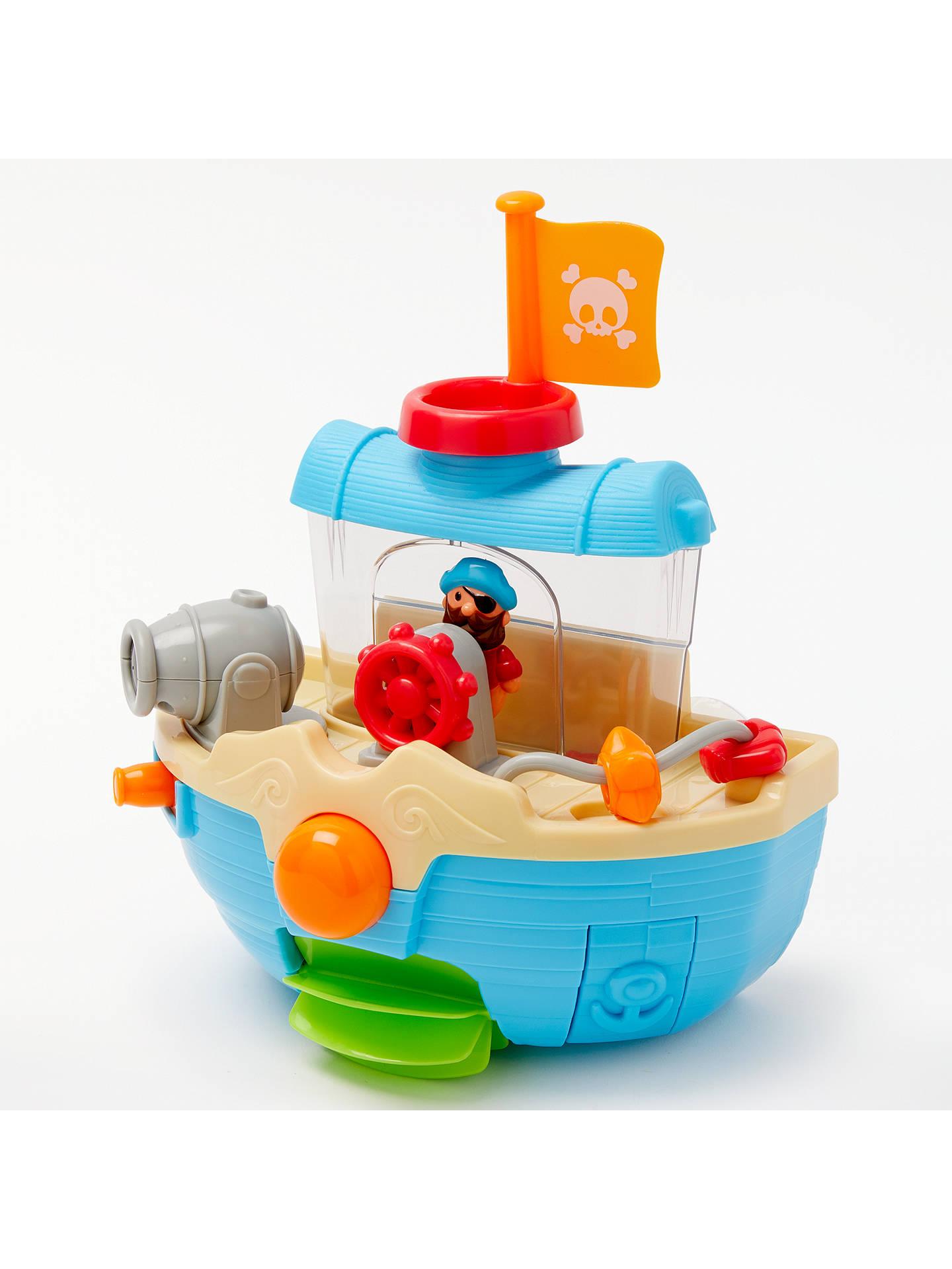 John Lewis & Partners Bathtime Water Pirate Boat at John Lewis ...