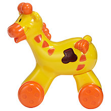 Buy John Lewis Press & Go Giraffe Toy Online at johnlewis.com